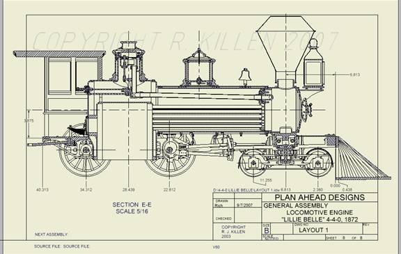 Plan - Ahead - Designs: Live Steam Locomotive model building