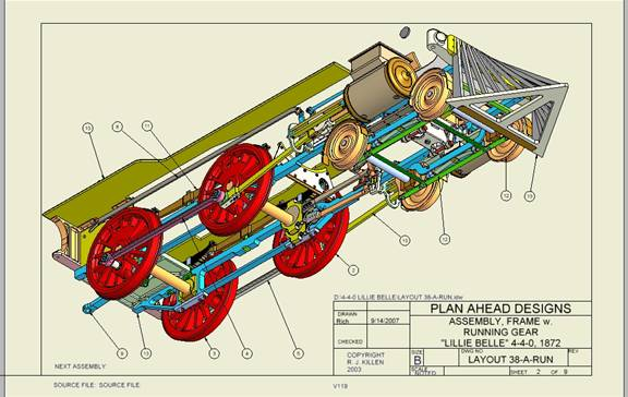Plan Ahead Designs Locomotives